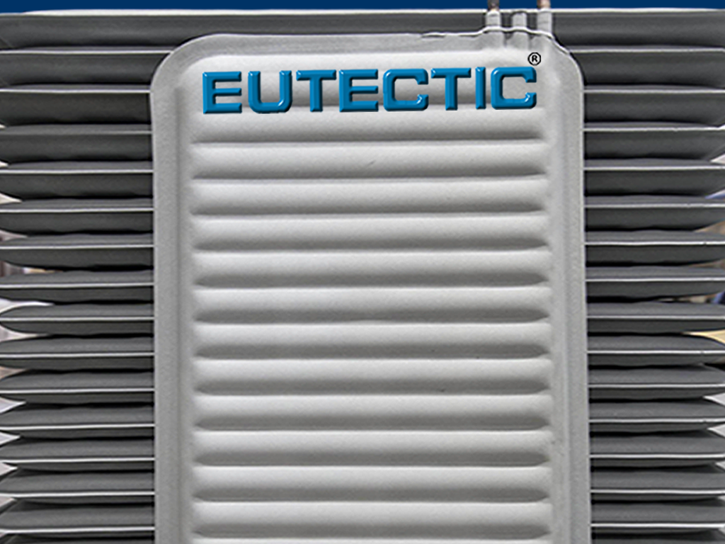 Eutectic Plates with zinc coated