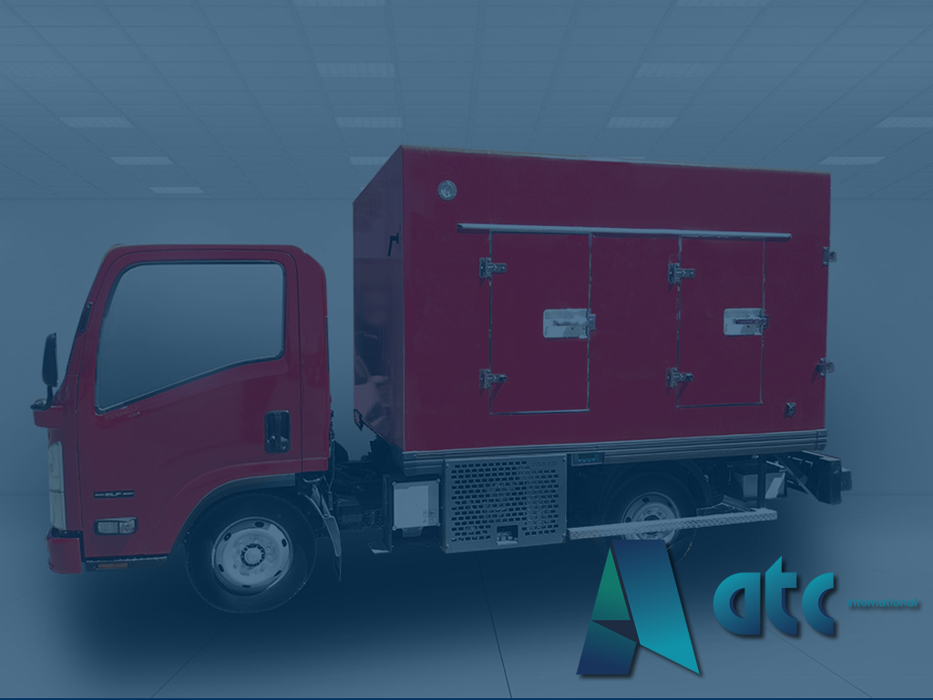 Refrigerated truck body produce by atcint
