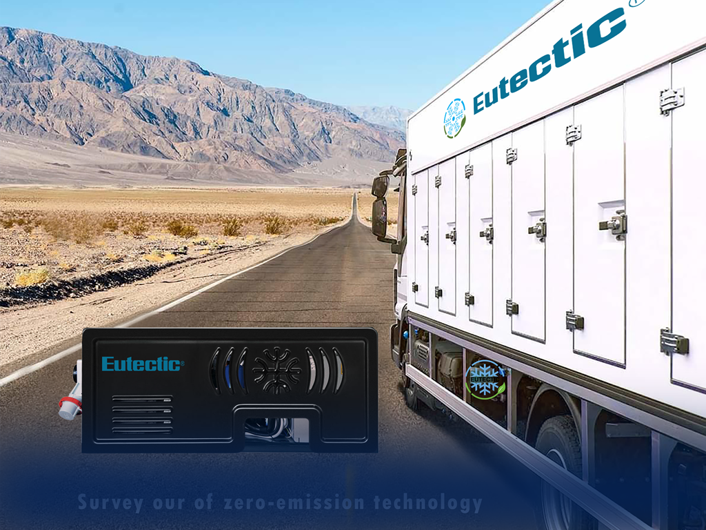 Eutectic refrigerated body for ice cream project in Israel
