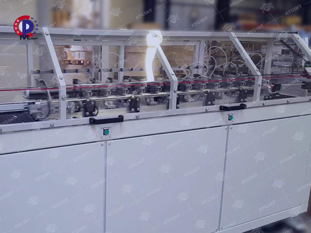 Paper converting machines